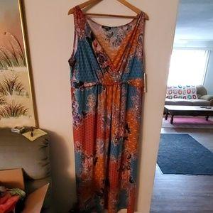 Elementz Woman NWT Sleeveless Dress - 2X